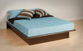 Espresso Queen Platform  Bed EBQ6080