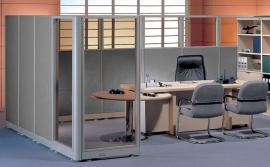 "Half Glass Partitions hg43072 72""H"