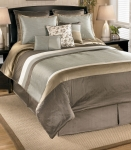 Mira Stone Collection 9 Pc. Bedding Set