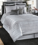 Lilia Silver Collection 7 Pc. Bedding Set