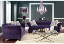 Antoinette Collection SM2222 Sofa & Loveseat Set