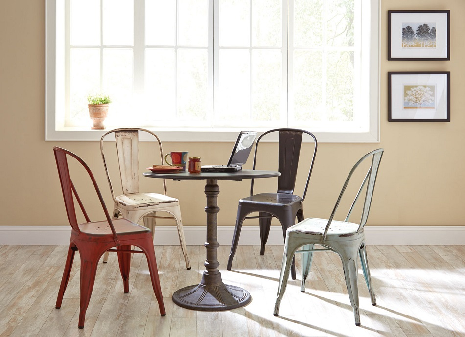 Oswego Collection 100063 Dining Table Set & Traditional dining set with different color options for chairs.