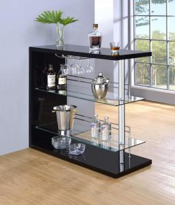 Eve Collection 100165 Bar Height Dining Table Set