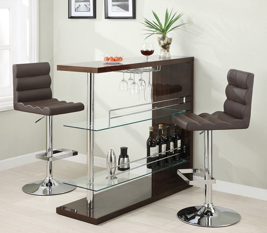 Eve Collection 100166 Bar Height Dining Table Set : 100166 from www.wyckes.com size 850 x 742 jpeg 155kB