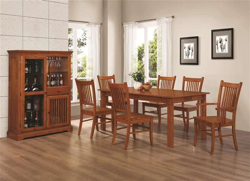 Mission Country Formal Dining Table Set Images Products 100621 Jpg