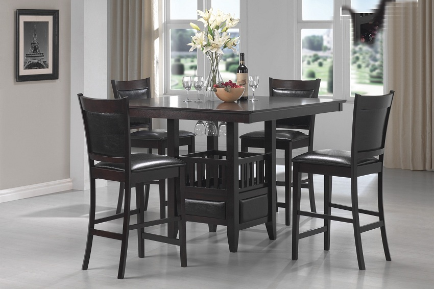 Jaden Collection 100958 Counter Height Dining Table Set