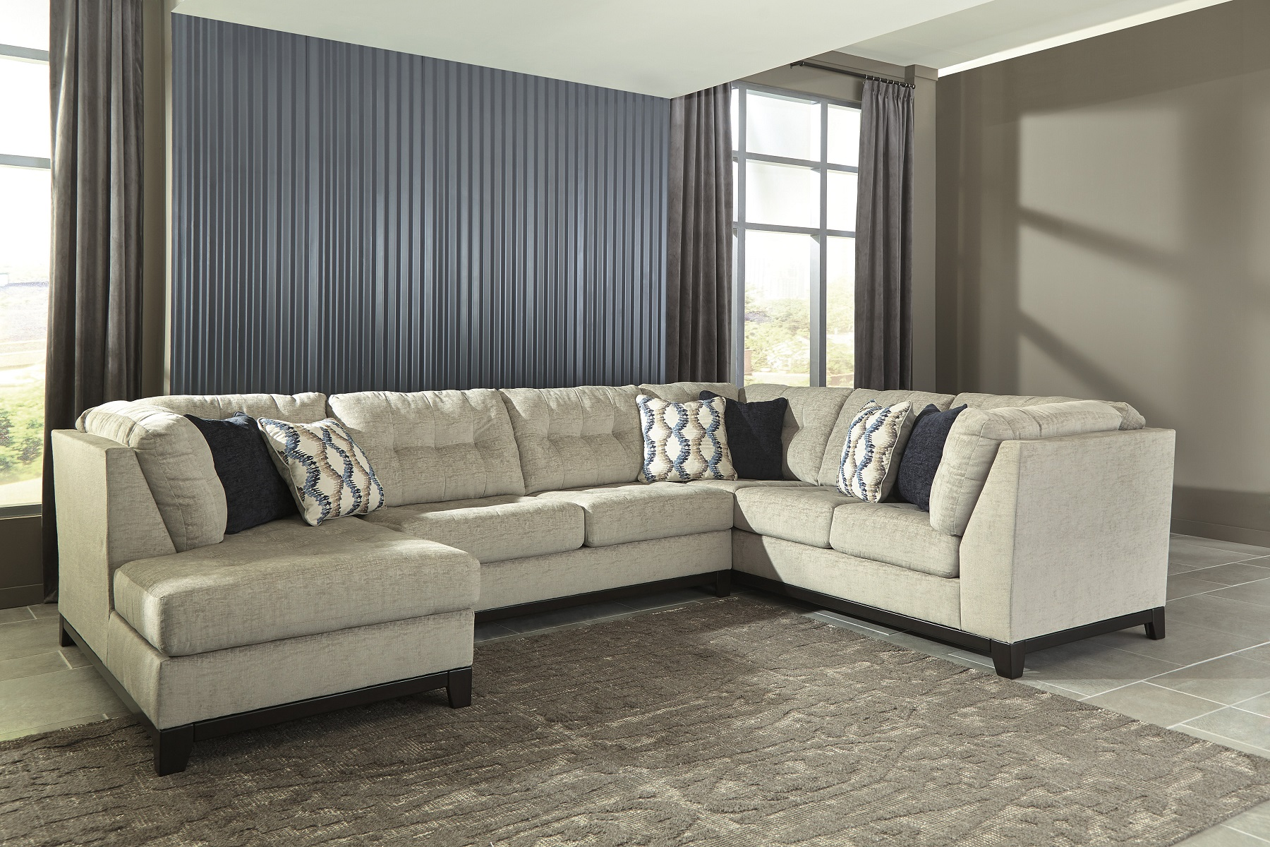 Beckendorf 15004 16 By Ashley Sectional Sofa