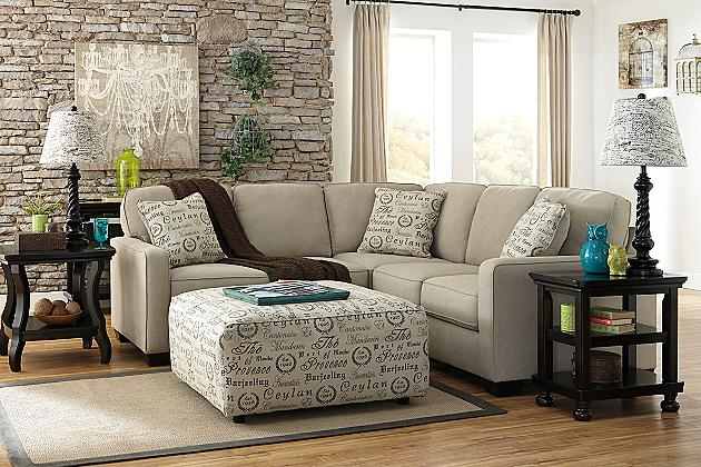 Ashley furniture alenya quartz collection 16600 sectional for Sectionals for small rooms canada