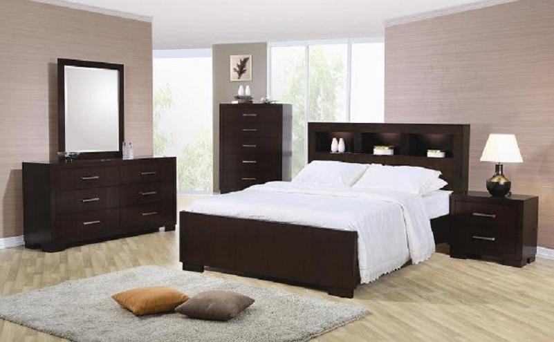 Storage Headboard Plaform Bed Queen Bedroom King Full