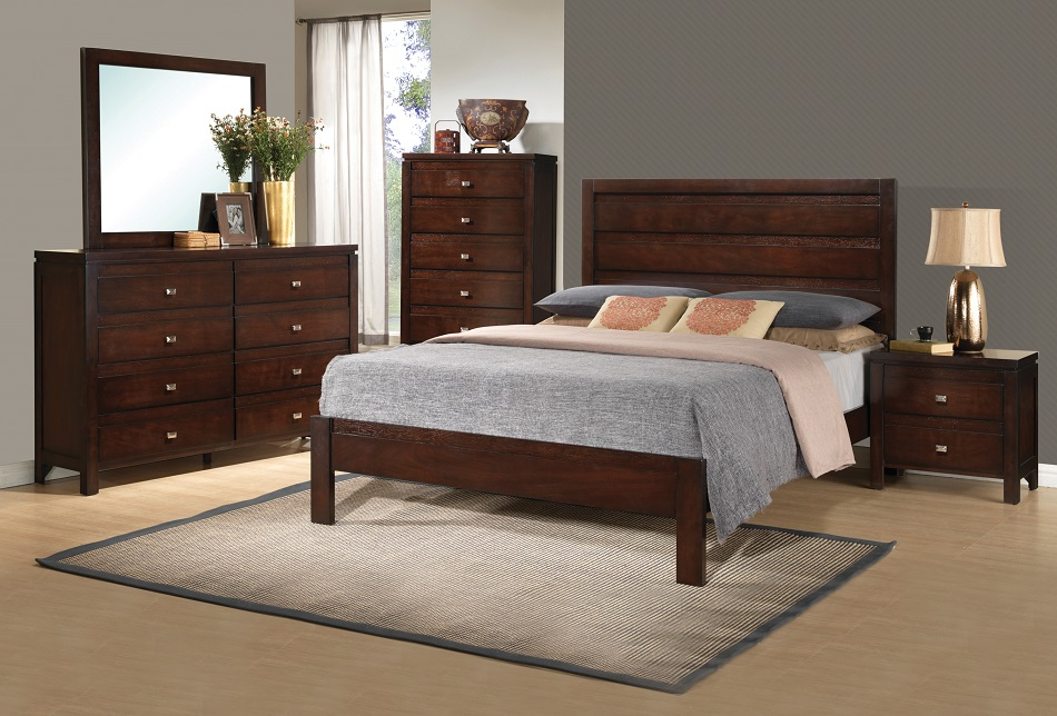 coaster furbiture Cameron Collection 203491 transitional Bedroom Set