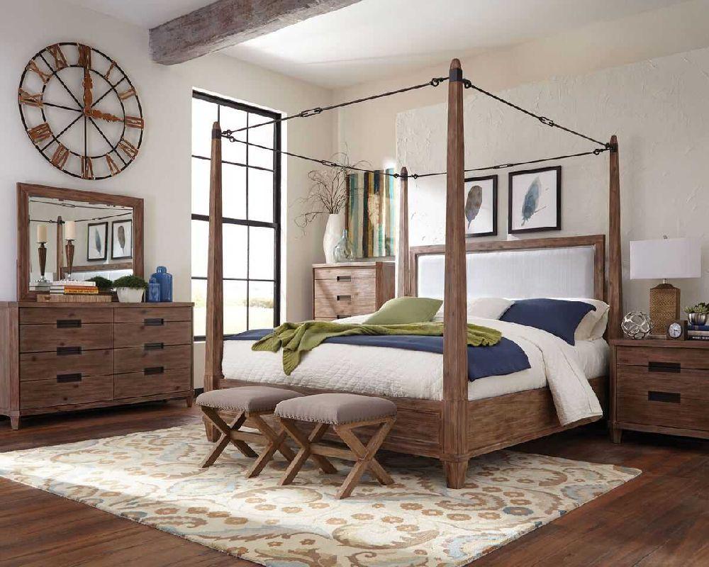 Donny Osmond Home Madeleine 203541 Buckle Canopy Bedroom Set