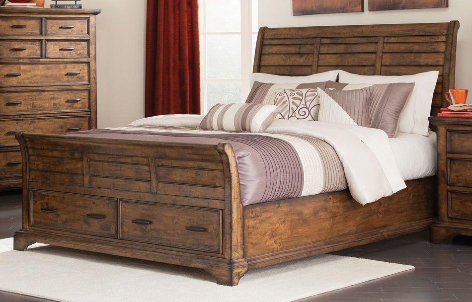 elk grove collection 203891ke eastern king bed frame. Black Bedroom Furniture Sets. Home Design Ideas