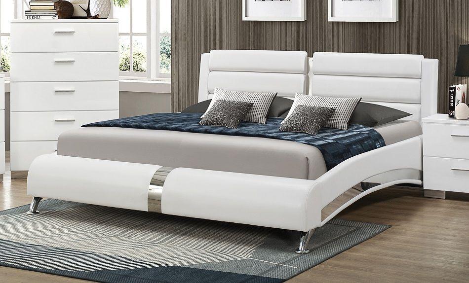Felicity Collection 300345kw Coaster California King Bed Frame
