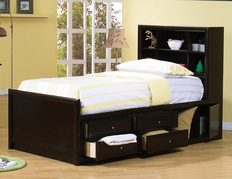 Phoenix Collection 400180t Twin Bed Frame