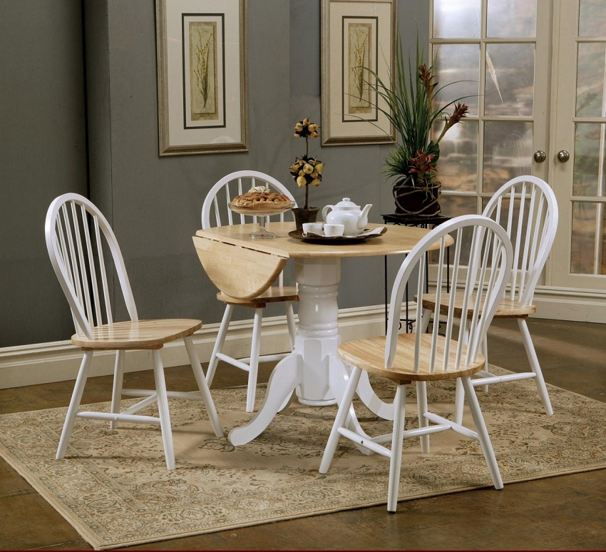 Country Dining Sets maddie collection 4241 casual dining table set
