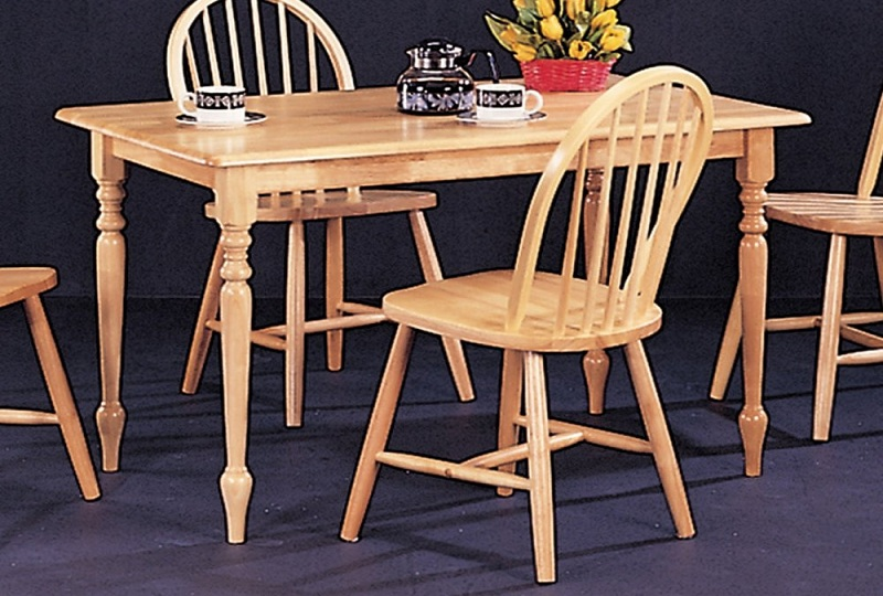 Archer Collection 4347 Country Dining Table Set