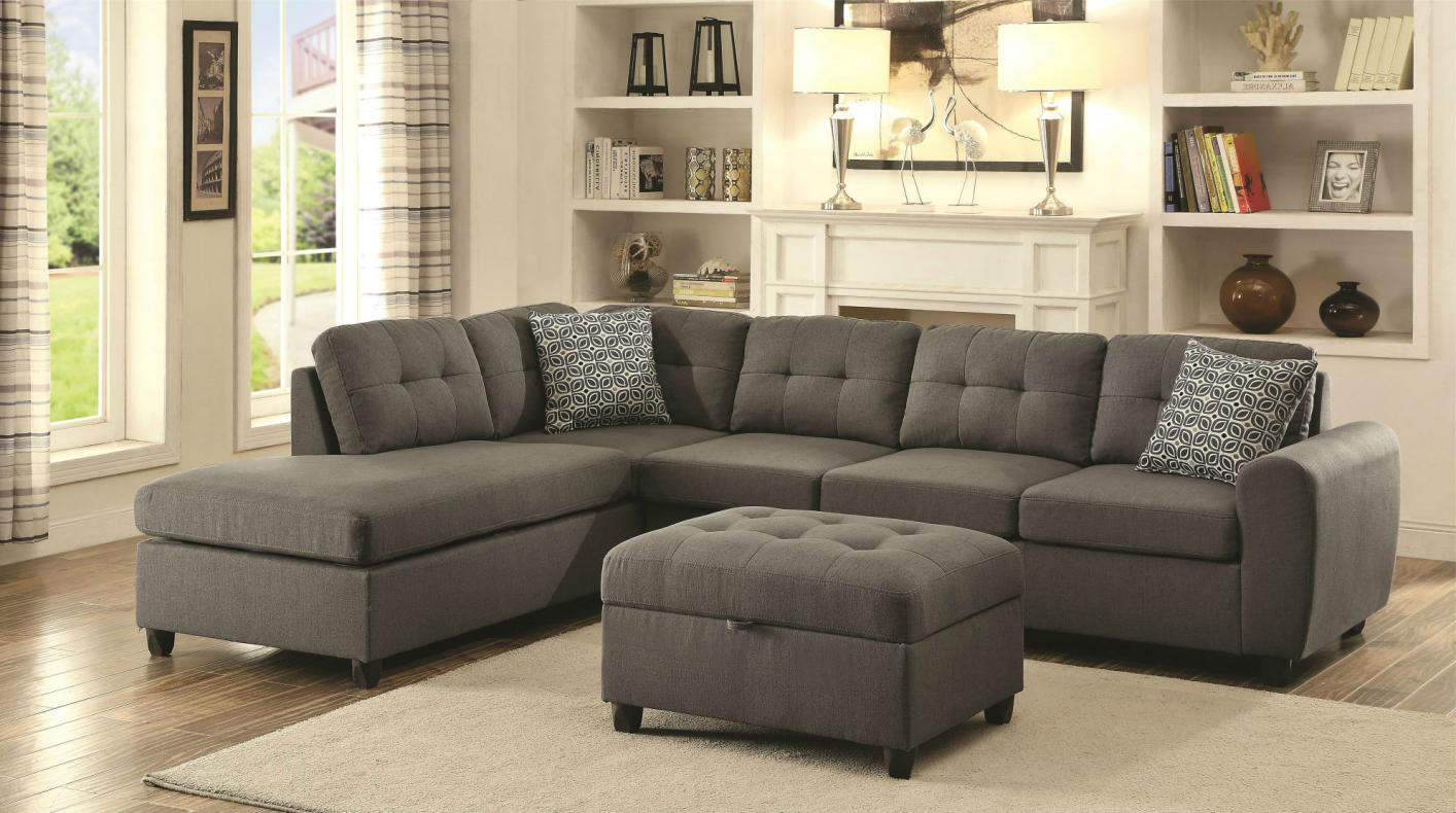 Stonenesse collection 500413 sectional sofa for Living room furniture 0 finance