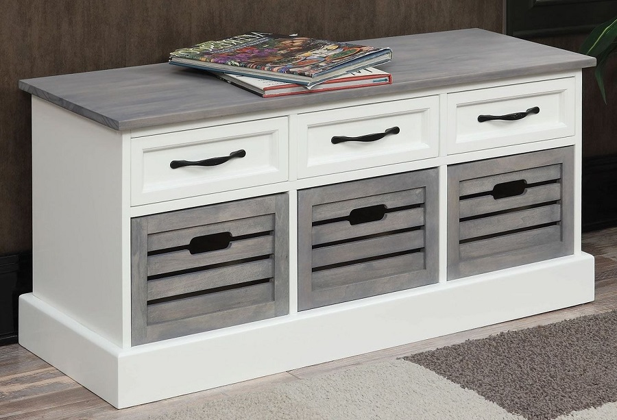 501196 Coaster Coffee Table With Storage Drawers