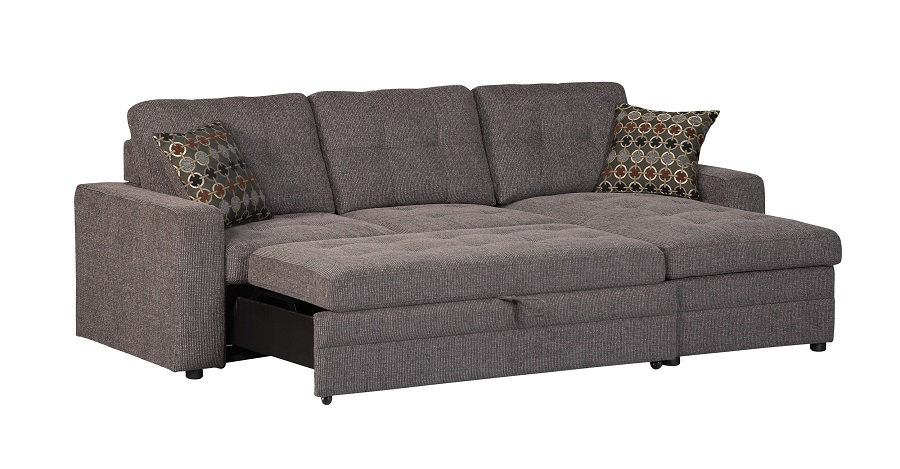 Gus Collection 501677 Sleeper Sectional Sofa  sc 1 st  Wyckes Furniture : sectional sleeper sofa queen - Sectionals, Sofas & Couches