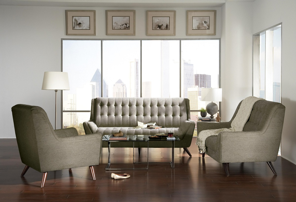 Natalia Collection 503771 Sofa & Love Seat Set