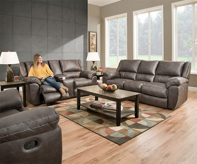 Super Shiloh 50433 Grey Reclining Sofa Loveseat Set Pabps2019 Chair Design Images Pabps2019Com