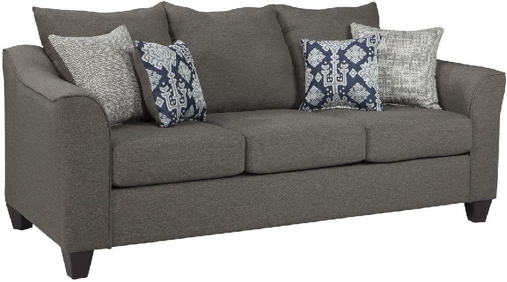 Salizar Collection by Coaster 506021 Grey Linen Fabric Sofa