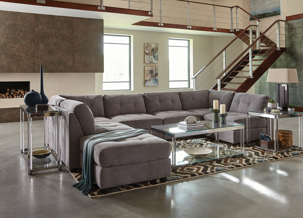 Claude Collection 551004 Sectional Sofa