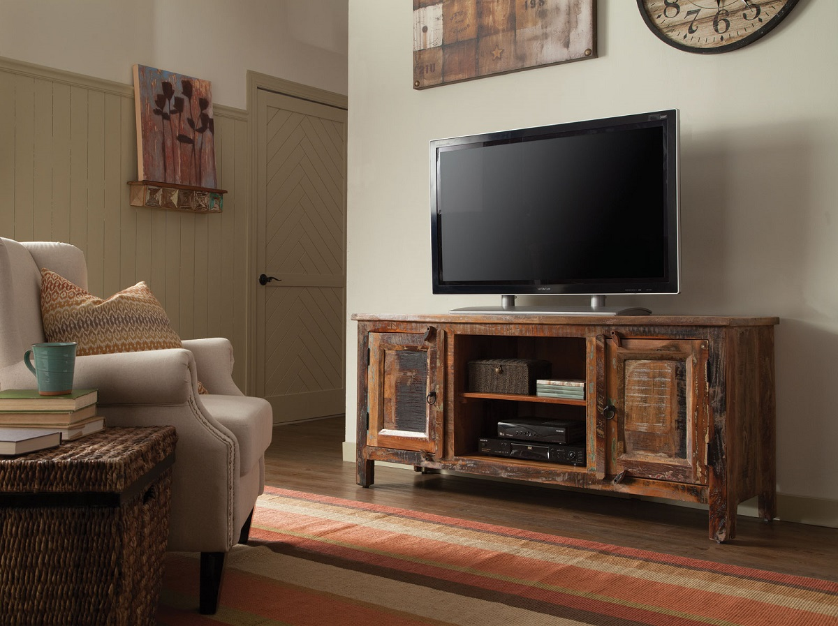 Create Your Entertainment Center With This Tv Stand From