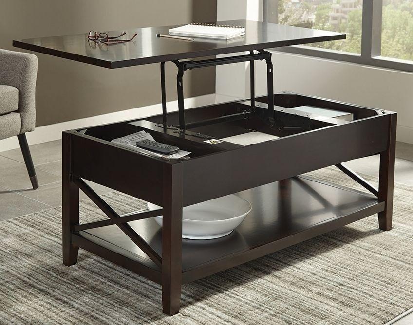 Wondrous Scott Living 705688 Lift Top Coffee Table Cjindustries Chair Design For Home Cjindustriesco