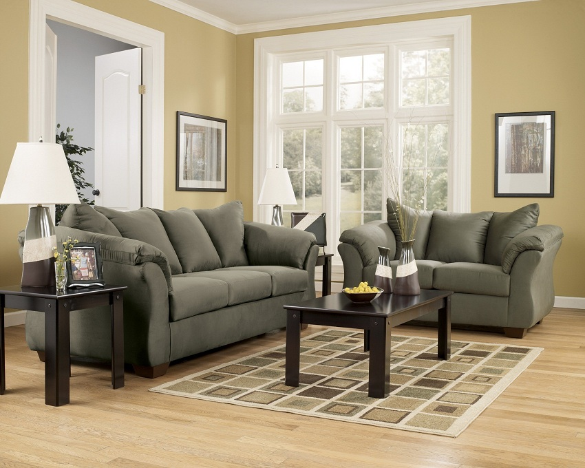 Darcy Collection 75003 Ashley Sofa Amp Loveseat Set