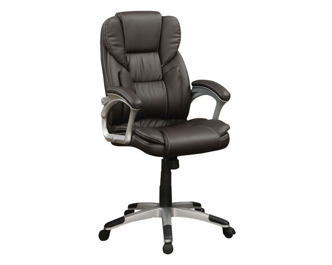 Coaster Office Chair 800045 Finished In A Dark Brown