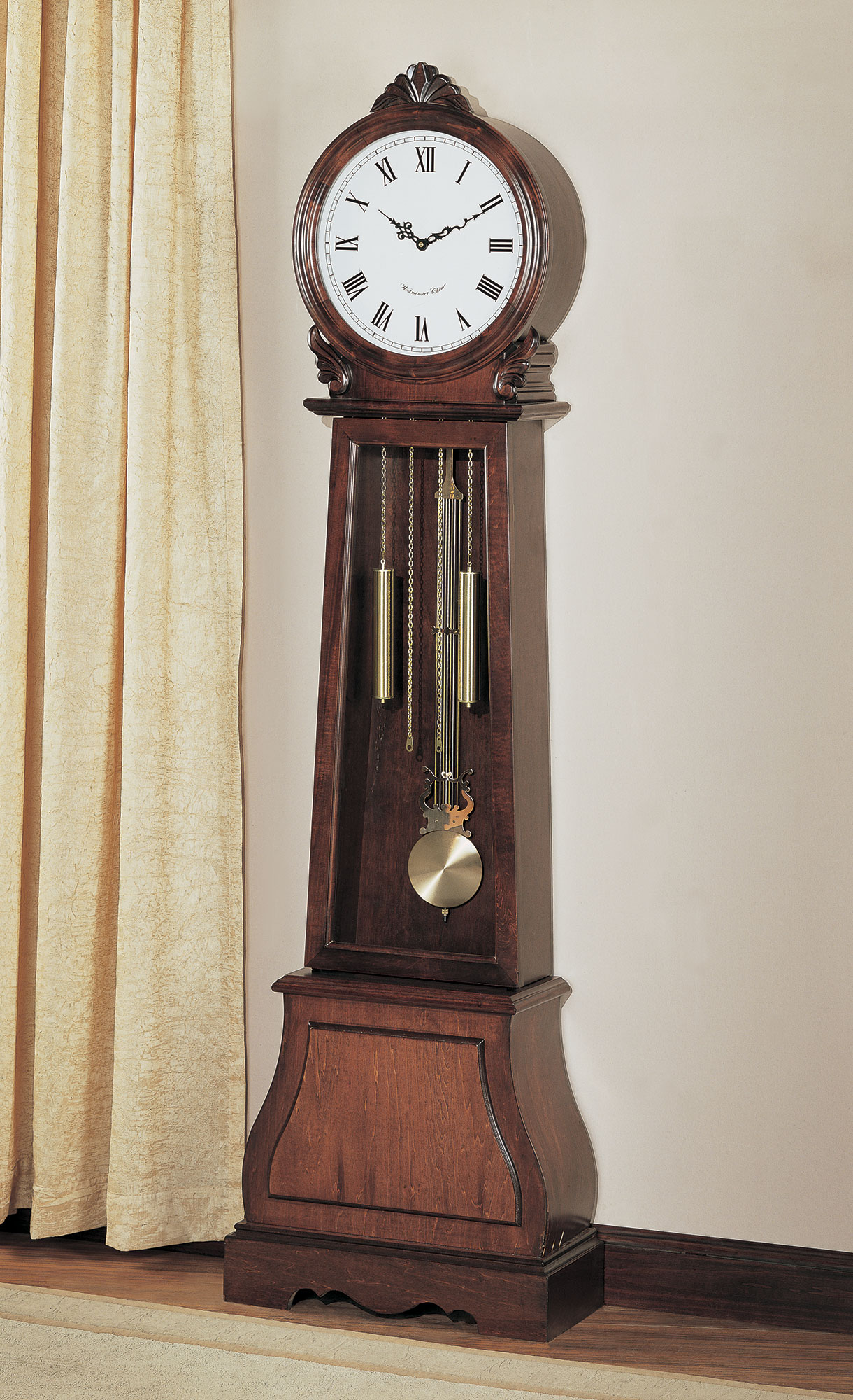 Coaster 900723 Battery Powered Brown Grandfather Clock