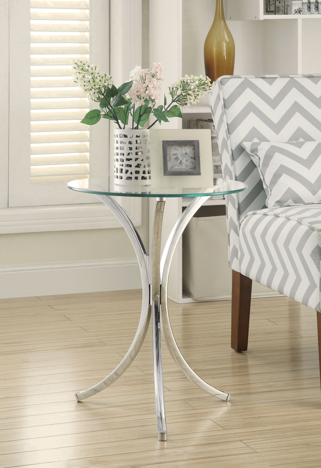 Coaster Furniture 902869 Cyclone Stylish Snack Table With