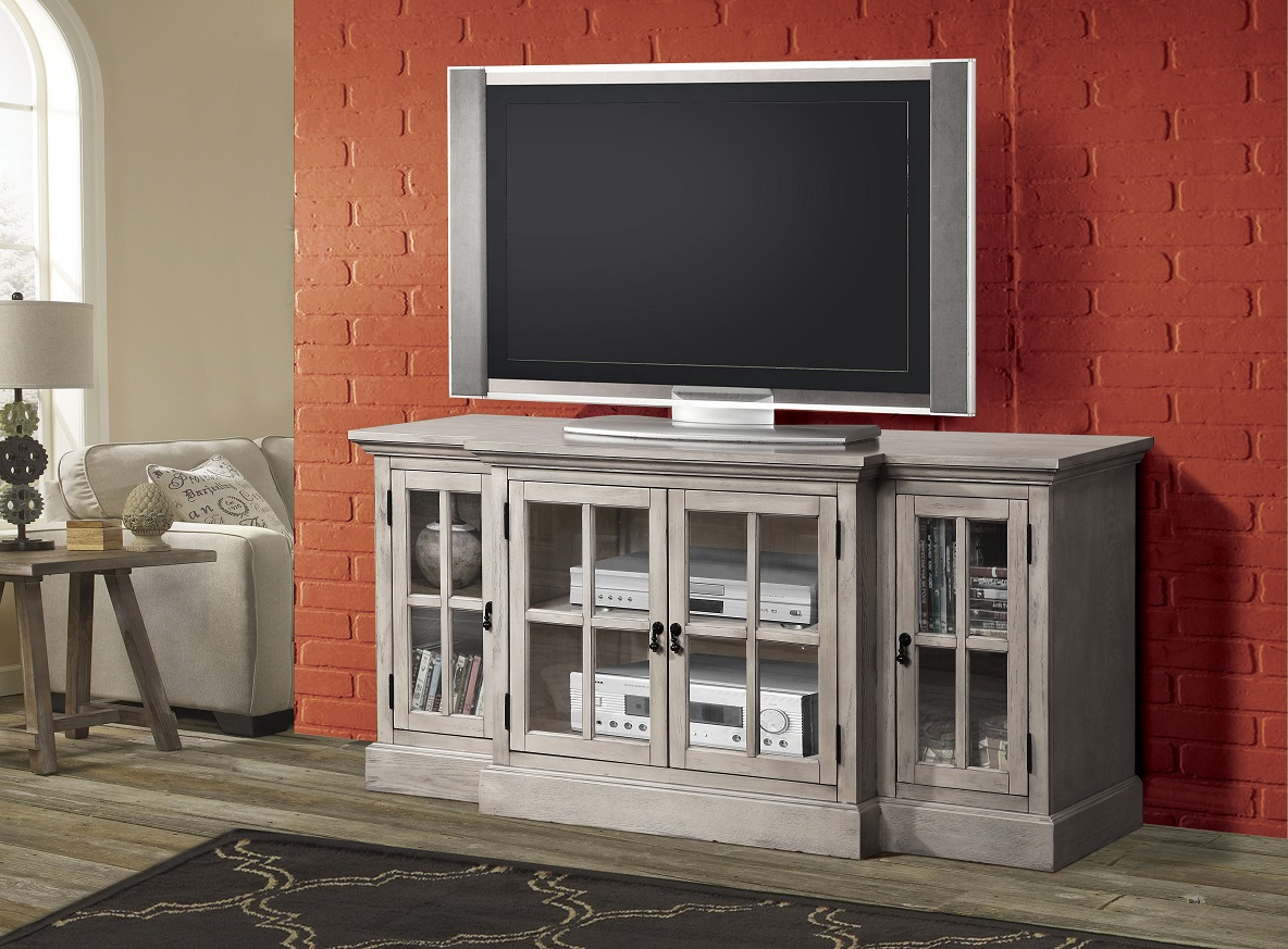 julian collection  gray tv stand. acme furniture julian  sandwashed gray finish tv stand console