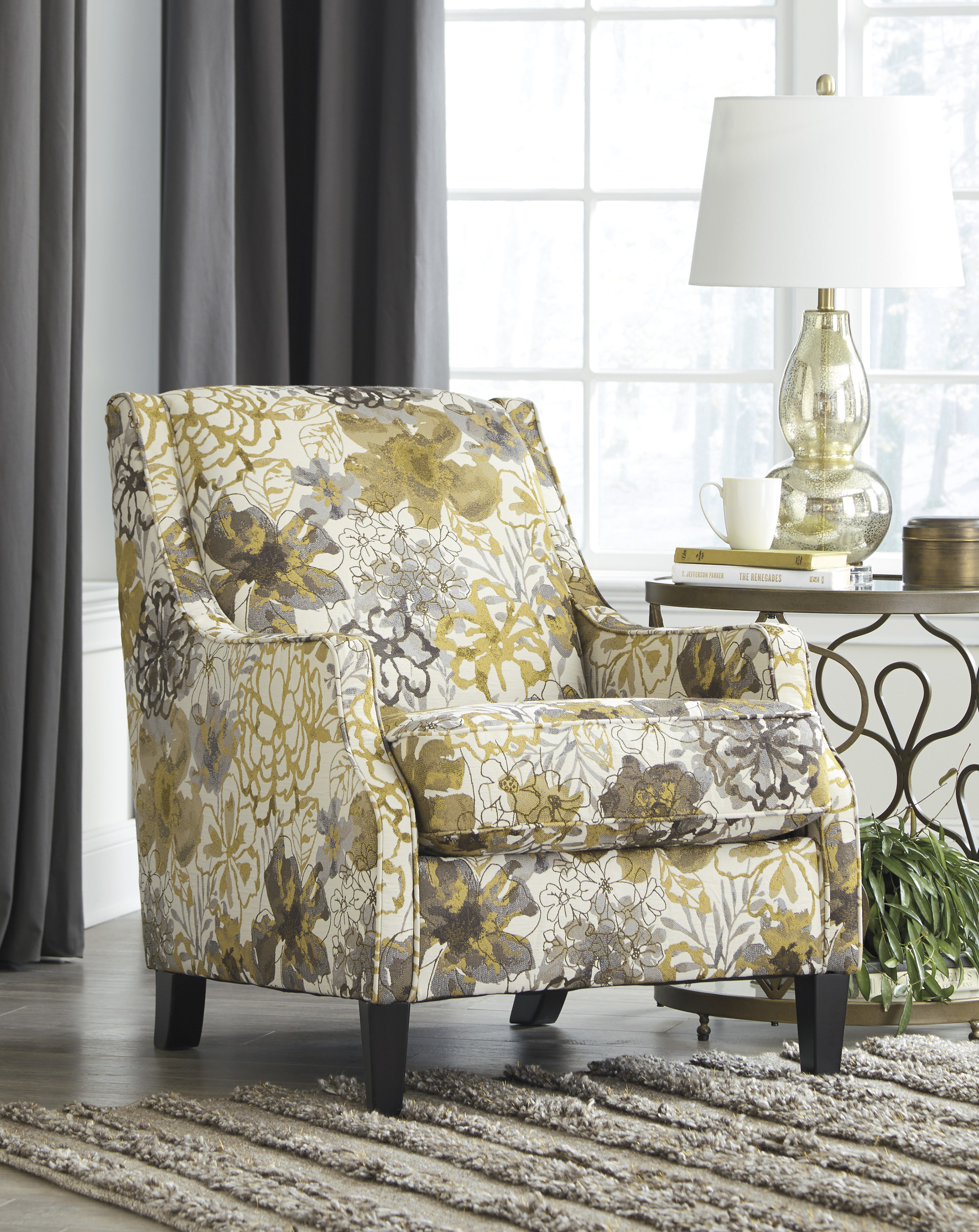 Unique Ashley Accent Chairs Set
