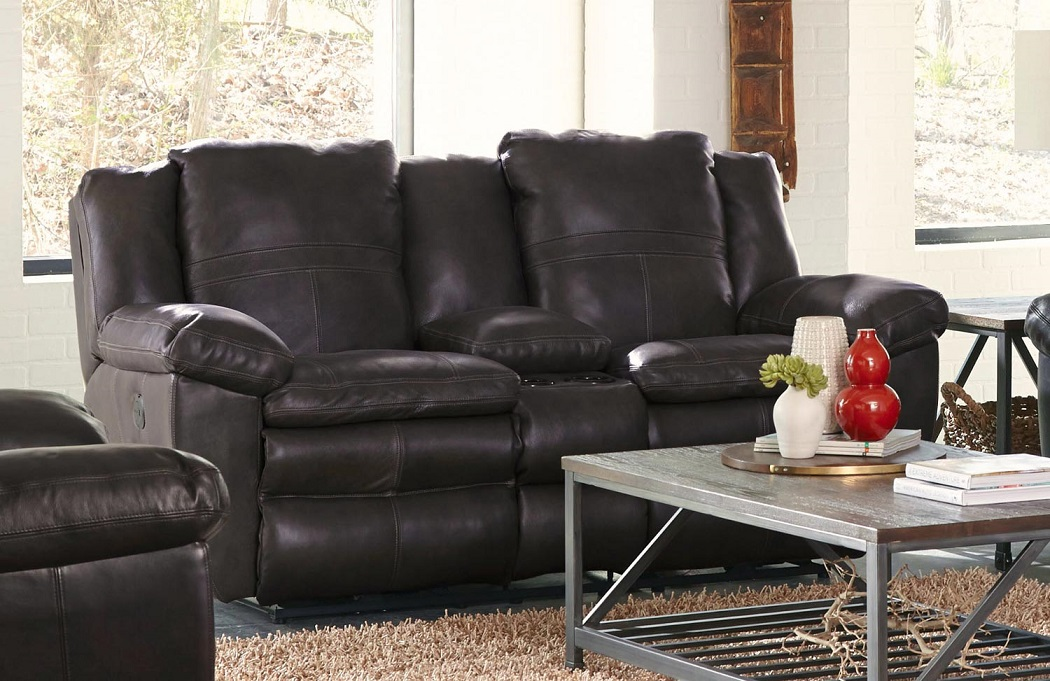 Incredible Top Grain Leather Reclining Loveseat Ocoug Best Dining Table And Chair Ideas Images Ocougorg