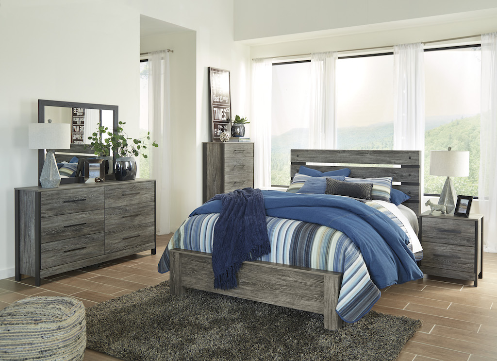 Ashley Cazenfeld Collection B227 Bedroom Set