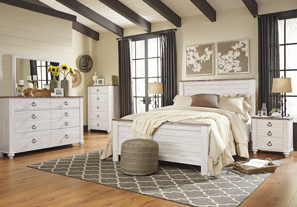 Ashley willowton collection b267 bedroom set - Ashley furniture bedroom packages ...