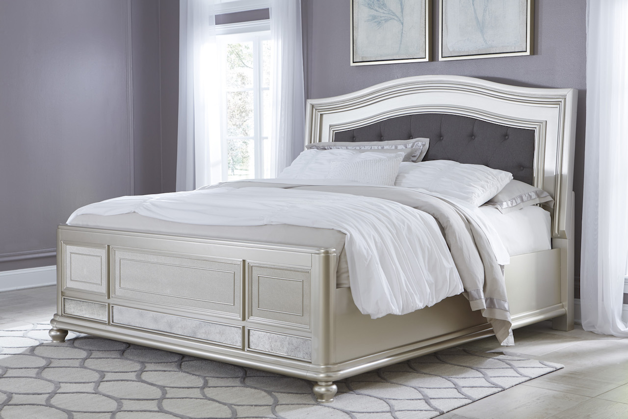 Ashley Coralayne Collection B650 Queen Panel Bed