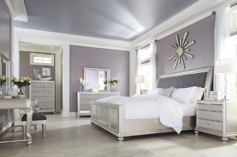 Bedroom Set Sleigh Bed
