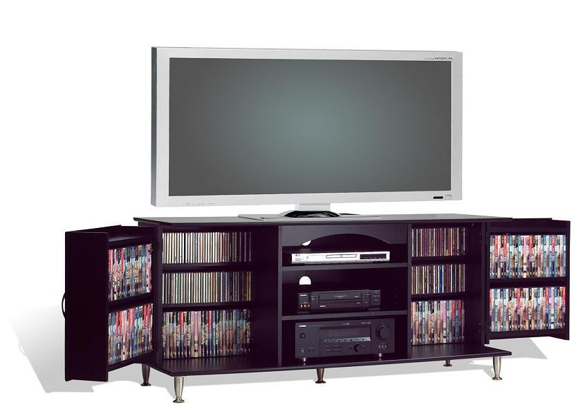 "Prepac Premier Black 60"" Flat Panel LCD Plasma TV"