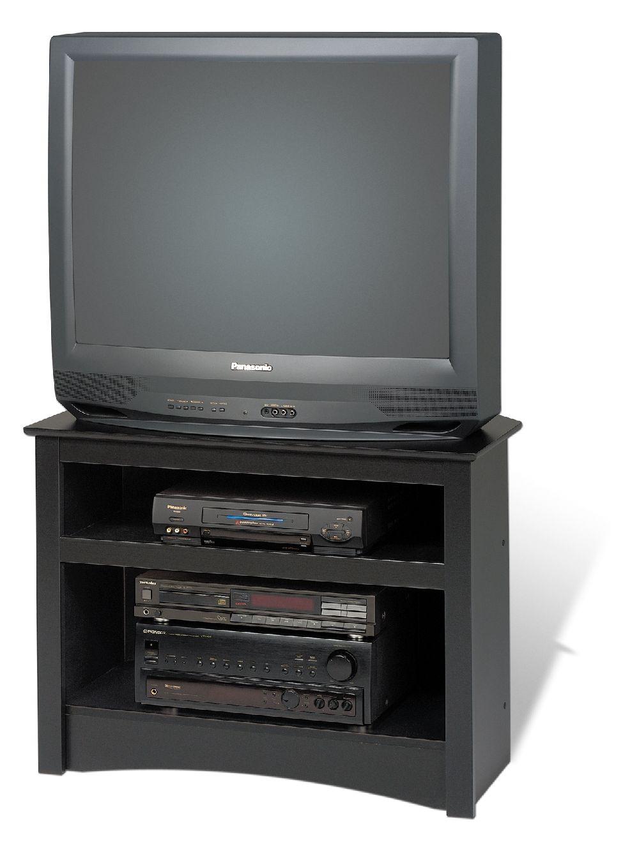 Prepac Black Corner TV Stand BTV3224 furniture outlet