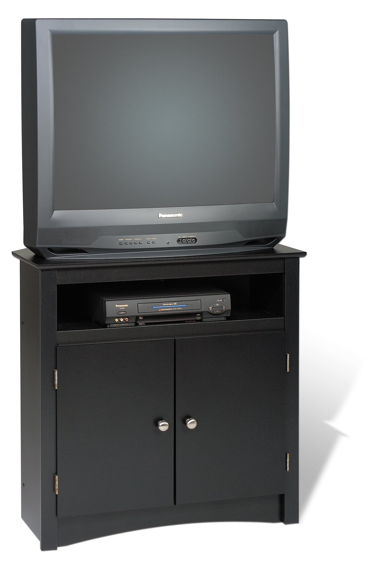 Prepac Black Tall Corner Tv Cabinet Btv3232 Furniture
