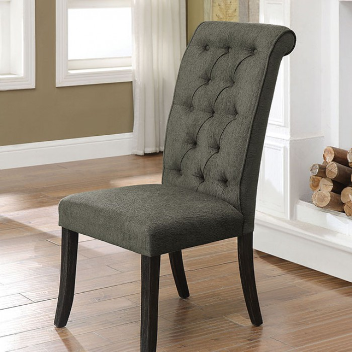 Marshall Fields Furniture: Marshall By Furniture Of America CM3564GY-SC Dining Chair