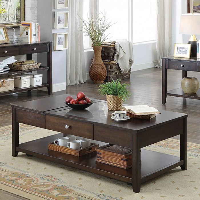 Stupendous Genesis By Furniture Of America Espresso Cm4255C Lift Top Coffee Table Cjindustries Chair Design For Home Cjindustriesco