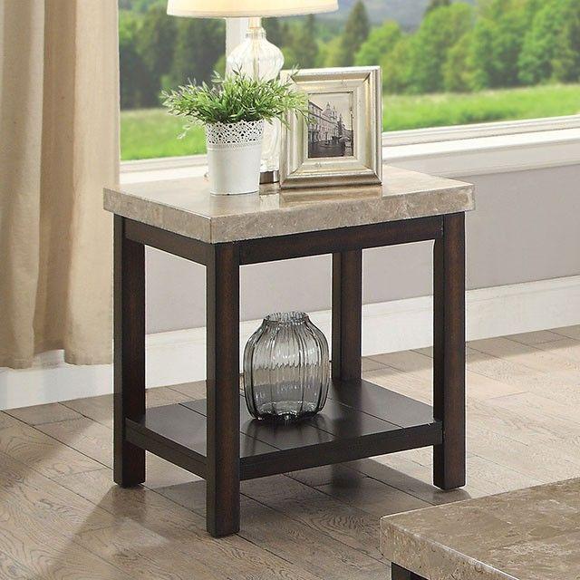 Marble Coffee Table Kijiji Calgary: Calgary By Furniture Of America End Table CM4861E Dark