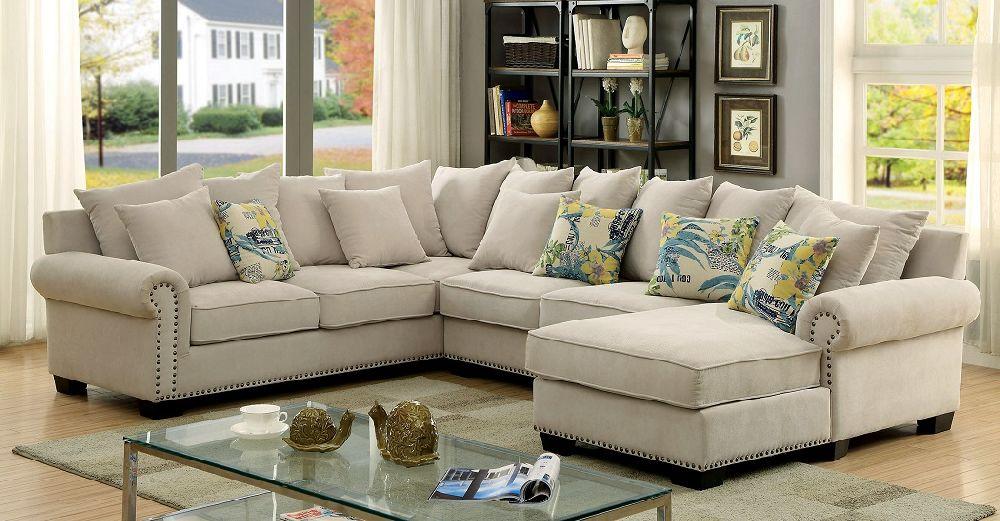 Skyler Collection CM6156 Sectional Sofa