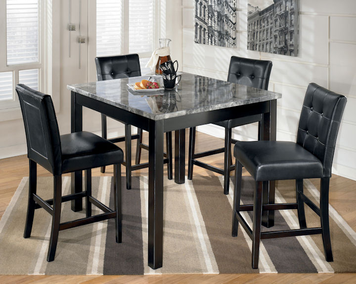 ... Counter Height Dining Table Set. slider 0. slider 0 & Marsville Collection D154 Counter Height Dining Table Set