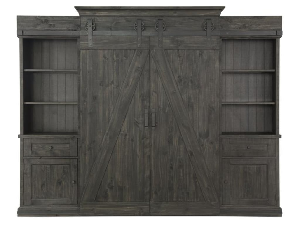 Garrett Collection E3778 Distressed Charcoal Color Wall