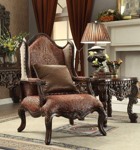 Homey Design HD 47 Victorian Accent Chair